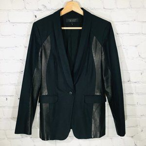 RAG & BONE Store Exclusive Lamb Leather Blazer 6